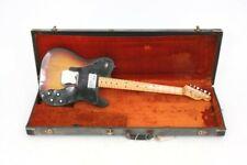 1972 Fender Telecaster Custom electric guitar with original case.