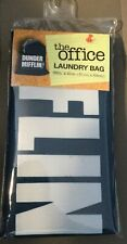 NBC THE OFFICE TV SHOW DUNDER MIFFLIN PAPER COMPANY LAUNDRY BAG  32 IN X 21 IN