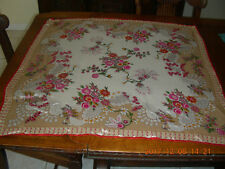 "VINTAGE WORTHINGTON FLORAL SILK SCARF MADE IN JAPAN 31"" x 32"" FLORAL"
