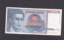Ex Jugoslavia banconota del 1993
