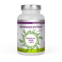 Vita2You Weihrauch Extrakt 500mg pro Kapsel - 180 Kapseln - 85% Boswelliasäure