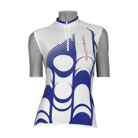 Northwave Vita Sleeveless Cycling Jersey White/Blue, Large, Excellent Condition.