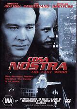 COSA NOSTRA - THE LAST WORD Timothy Hutton - Richard Dreyfuss DVD R4 New