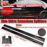 UNIVERSAL Carbon Side Skirt Extensions For BMW Audi Mercedes Ford VW Subaru