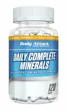 (12,80 Euro/100g) Body Attack Daily Complete Minerals - 120 Kapseln Mineralien