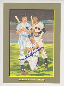 Duke Snider #87 Autographed Perez-Steele WMD Greatest Moments Card