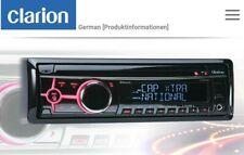 CLARION CZ505E CD USB DAB+ Bluetooth AUX Autoradio