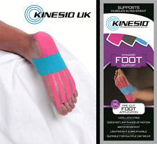 KINESIO Pre Cut Tape - Kinesiology tape for FOOT injuries & support. FREE POST