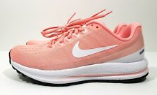 bddf123bc9452 Nike Air Zoom Vomero 13 Womens Running Training Shoes Pink White Size 7