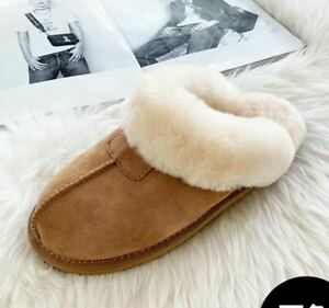 Australian Sheepskin Womens Mules Slippers