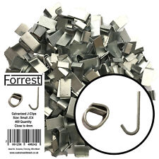 Heavy Duty J-clips Aprox 200 Fencing Aviary's Wire Mesh Cage Making Traps