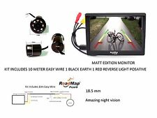 Navara  Pathfinder  Hilux Surf Mitsubishi Rear Reversing Camera Kit