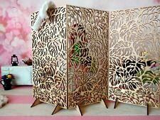 Miniature screen Monstera room divider dollhouse dressin furniture 1:6 partition