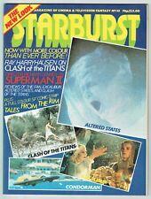 STARBURST #35 - ALTERED STATES, EXCALIBUR, Harryhausen's CLASH OF THE TITANS -VG