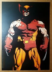 Wolverine Marvel Comics Poster by Mark Texeira