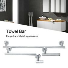Stainless Steel Towel Bar Towel Rack Toilet Paper Holder Clothes Hook for Home