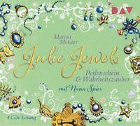 MARION MEISTER - JULIE JEWELS-TEIL 1: PERLENSCHEIN UND WAHRHEITSZAUBER 4 CD NEW
