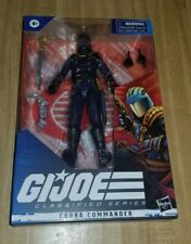 GI-JOE CLASSIFIED SERIES - COBRA COMMANDER - wave 2 - Hasbro-  6? Figure