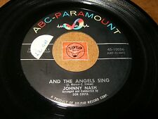 JOHNNY NASH - AND THE ANGELS SING - BABY BABY BABY / LISTEN /  R&B CALYPSO SWING