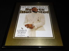 Lebron James Framed 11x14 ORIGINAL 2016 Sports Illustrated Cover Cavaliers