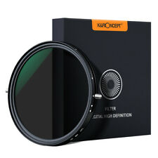 K&F Concept 67/72/77/82mm Variable Fader ND2-ND32 CPL Polarizer Filter No X Spot