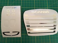 Tamiya 1/14 Scania Truck Chrome Front End *Any Colour*