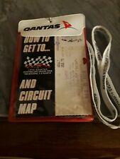 Formula 1 1998 Australian GP Ticket