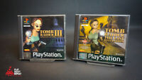 Tomb Raider 3 AND The Last Revelation Sony PlayStation 1 FAST FREE UK POSTAGE