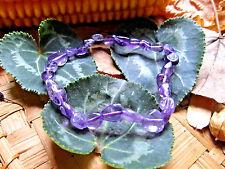 86-Bracelet améthyste perles 6/10mm-Reiki-Pierres de santé