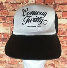 Official Conway Twitty Country Music Mesh Trucker Snapback Cap Hat Rockabilly