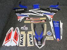Yamaha YZF250 YZF450 2014-2016 N-Style Squadra kit grafica + plastica set GR1027