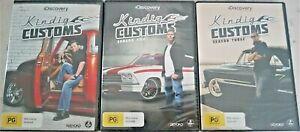 Kindig Customs Season 1 - 3  (DVD, 2015, 8-Disc Set) Region 4