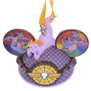 Disney Parks Imagination Institute Ear Hat Ornament - Figment