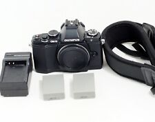 MINT Olympus OM-D E-M5 16.1 MP Digital Camera BLACK Body ONLY 3K SHUTTER COUNT