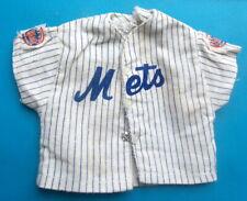 "1965 NEW YORK METS 13"" johnny hero rosko figure -- BASEBALL UNIFORM -- SHIRT tb"