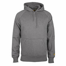 Carhartt wip chase basic hooded Pull Gris - Pull à Capuche pour Hommes