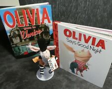 OLIVIA THE PIG NICKELODEON TV SERIES BOOKS AND SOFT TOY FROM GUND RINGMASTER