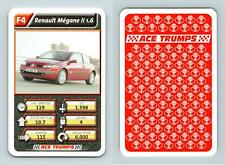 Renault Megane II 1.6 - Cars Series 3 ACE 2005 Trumps Card