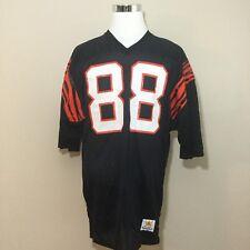 Cincinnati Bengals Sand Knit Jersey Size 44 NFL Football 88 Mike Martin