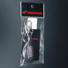 Honda HRC Official leather Keychain Key Chain Ring