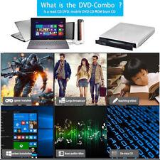 USB 2.0 Externe DVD Combo CD-RW Graveur Lecteur de CD ± RW DVD-ROM Pr Loptop PC