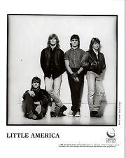 RARE Original Press Photo of Little America an 80's Rock Band