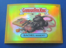 2014 Garbage Pail Kids Gpk Chrome Series 2 Gold Refractor #66B Rachel Rodent
