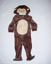 NWT Gymboree Boys MISCHIEVOUS MONKEY Velour Halloween Costume Romper 6-12 M