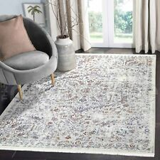 Salcombe Iris Medallion Distressed Colourful Transitional Rug - 4 Sizes **NEW**