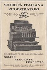 Z3532 Registratore di Cassa Italiano SIR - Pubblicità d'epoca - 1929 advertising