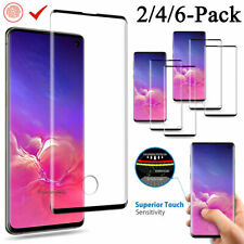 Samsung Galaxy S10 S20 Plus/Note 10+ Full Cover Tempered Glass Screen Protector
