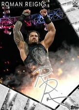 2020 SIGNATURE SERIES SILVER ROMAN REIGNS Topps WWE Slam Digital Card