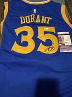 Kevin Durant Signed Autographed Golden State Warriors Jersey! JSA!