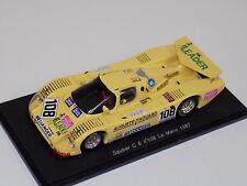 1/43 Spark Sauber C6  car #108 1987 24 Hours of LeMans. S4082